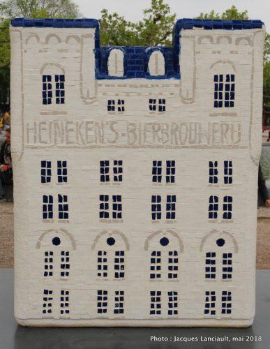 Heineken Experience, Canal House Parade, Amsterdam, Pays-Bas