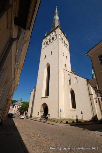 Église Saint-Olaf, Tallinn, Estonie