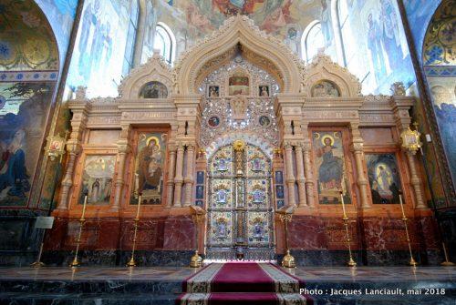 Église du Sauveur sur-le sang-versé, Saint-Pétersbourg, Russie