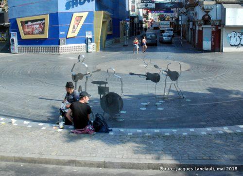 Beatles-Platz, Hambourg, Allemagne