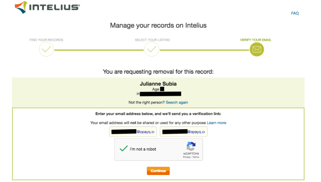 remove yourself from public records opt out removal remove yourself from intelius opt out removal