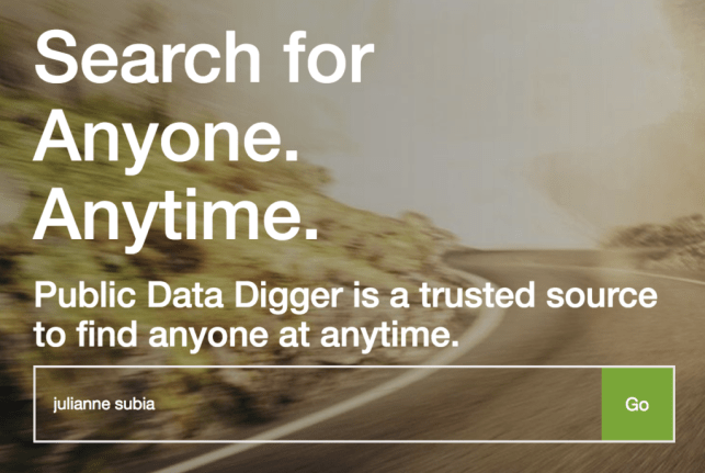 remove yourself from public data digger opt out removal