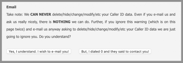 How to Remove Yourself from Caller ID Database opt out removal