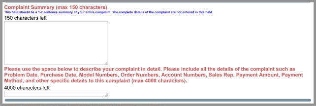 file a complaint better business bureau