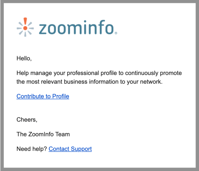 remove yourself from zoominfo opt out removal