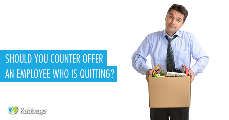 counter offer employee quit