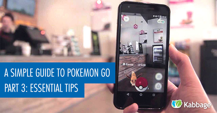 6 essential tips for Pokemon Go
