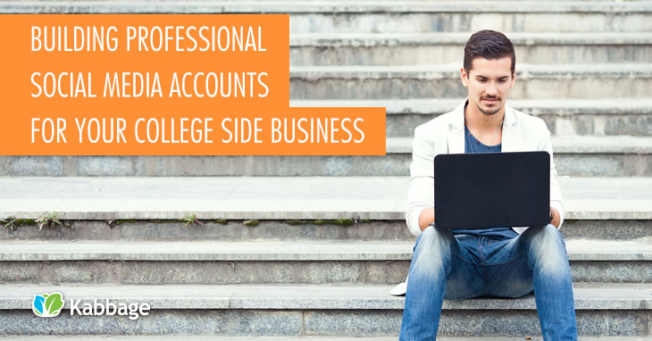 College Building Professional Social Media Accounts