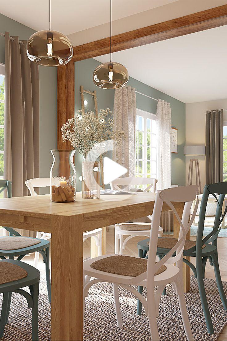 salle a manger style scandinave deco