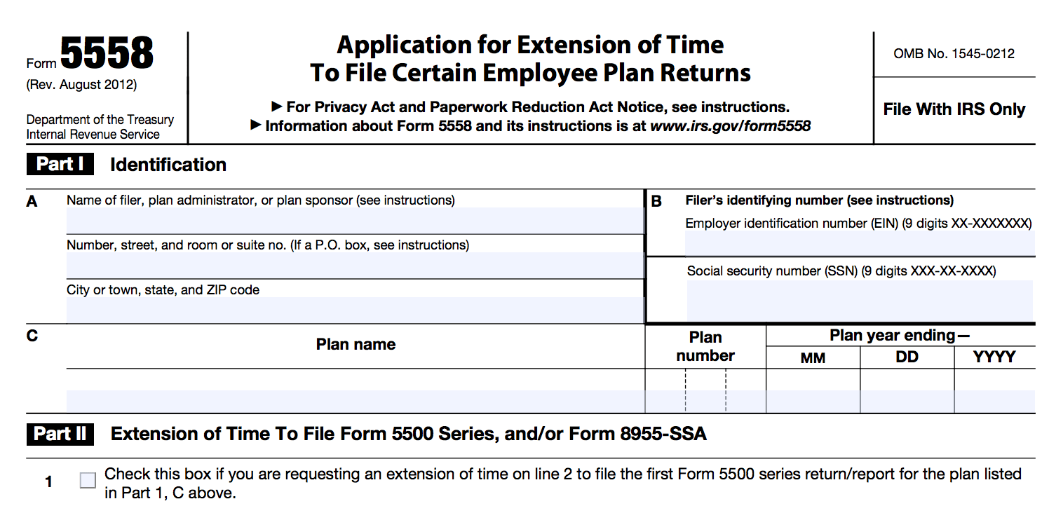Form 5500-EZ 2017 Updated Guide - Solo 401k