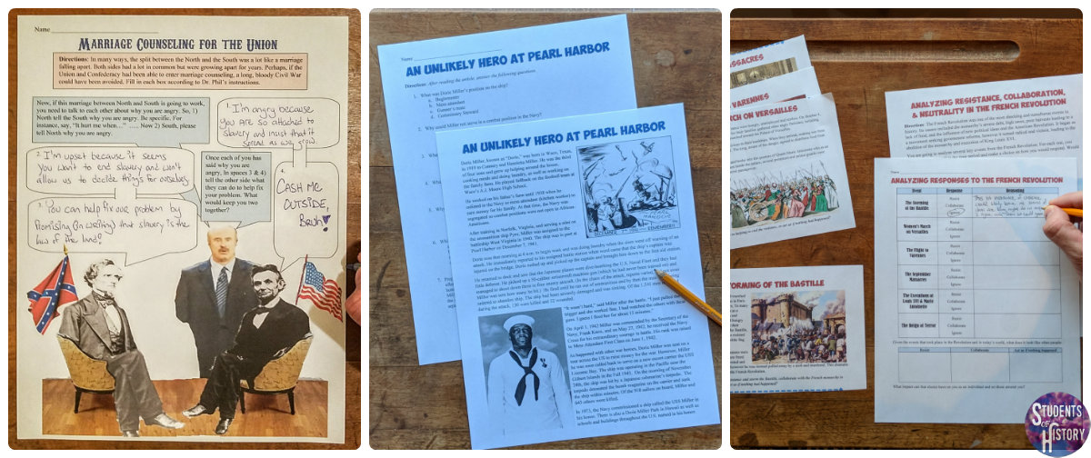 Social Studies Worksheets for Middle School That s not to say that worksheets aren t effective  however  They are a  great way to introduce primary sources  promote reading and writing
