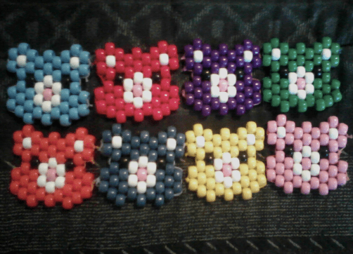 Love Kandi Cuff Patterns