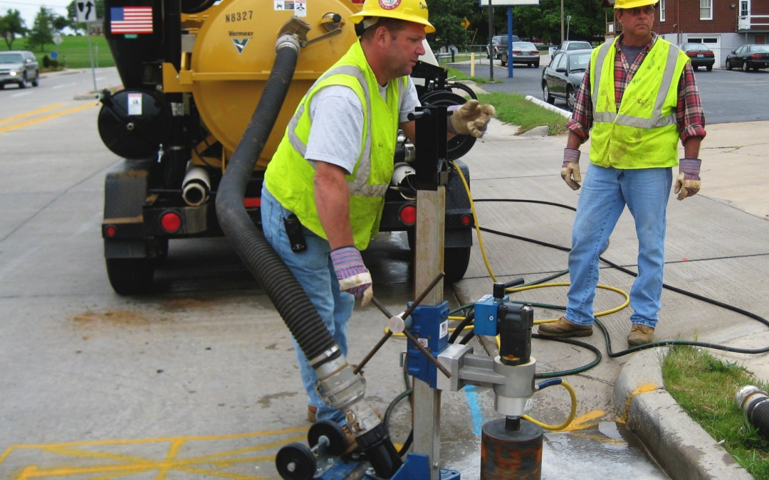 Maintaining Gas Line in the Gateway City