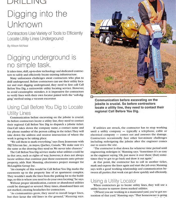 Trenchless Technology: Digging into the Unkown