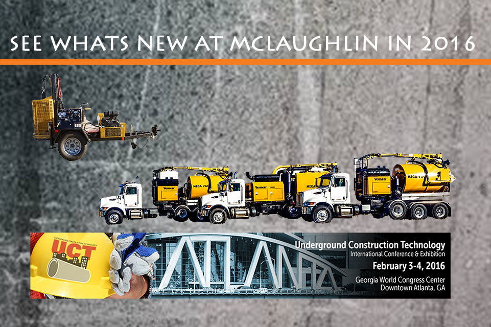 Check out McLaughlin's NEW Products that all utility contractors NEED in their fleet!