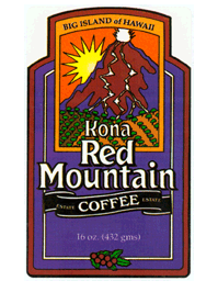 Kona Red Mountain Coffee