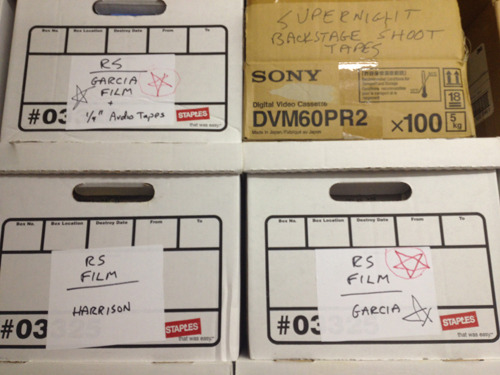 "16mm Negative of the Garcia Interview in ""The Vault"""