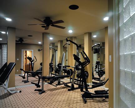 Definitely should have a gym