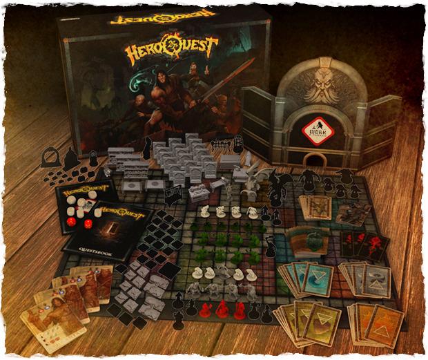 Infografía con los componentes del juego