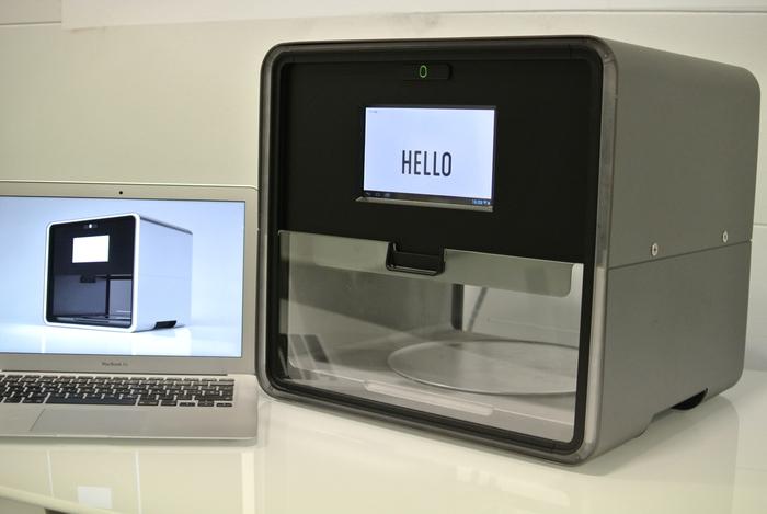 Voici le Foodini, une imprimante 3D pour préparer des repas