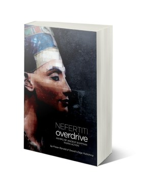 Cover mock up for Nefertiti Overdrive