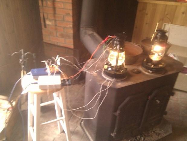 Testing Stove Lite circuitry