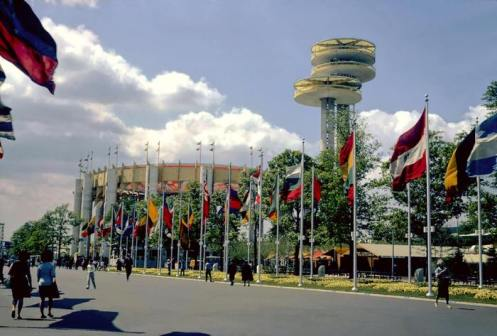 New York Pavilion, 1964 (Photo courtesy of Bill Cotter)