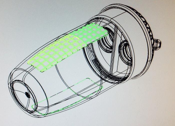 CAD file - Angled