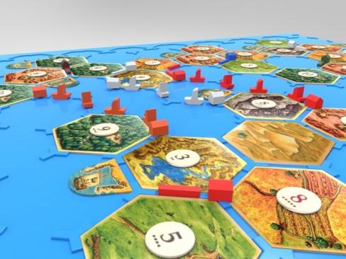 Supports all Seafarers of Catan scenarios