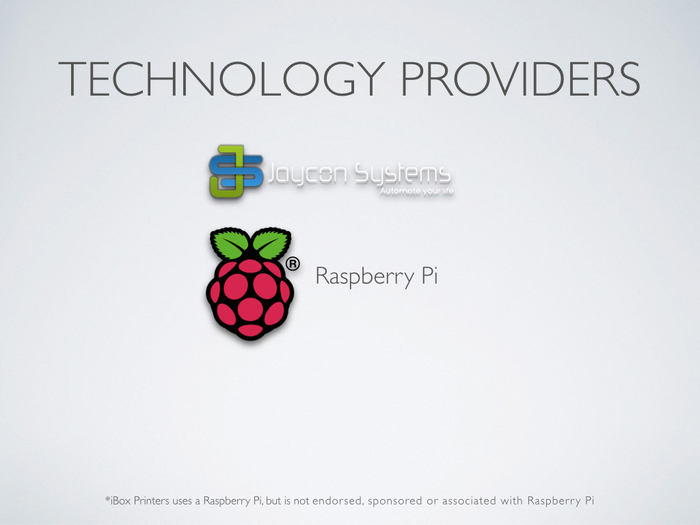 Raspberry Pi and other partners