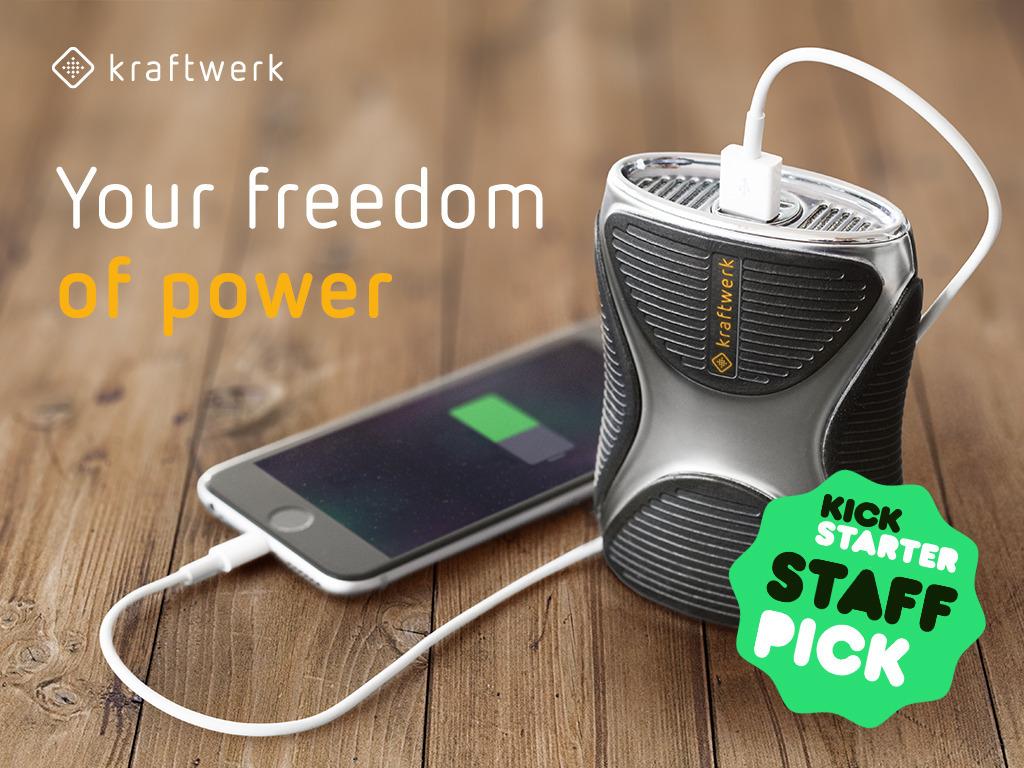 kraftwerk - highly innovative portable power plant's video poster