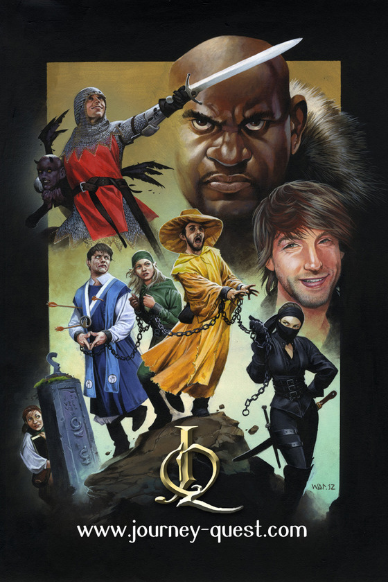 JourneyQuest Two poster art by Wayne Reynolds