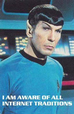 Mr Spock from Star Trek