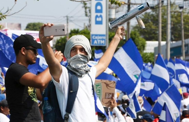 Resultado de imagen para represion en nicaragua