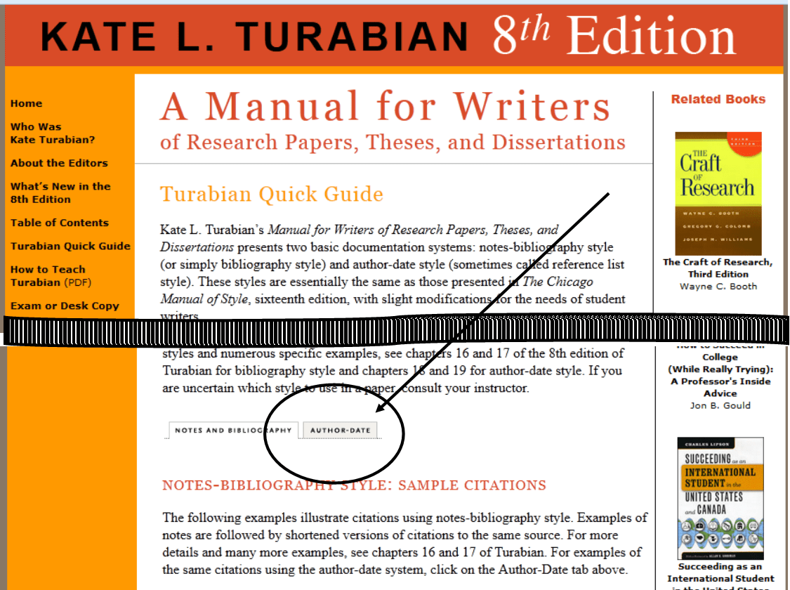 citing essays turabian Learn how to use the turabian essay format from our professionals to be equipped with the best essay formatting skills turabian style format example –turabian style paper template components if you need the best turabian citation example dissertation, get one done by our seasoned writers.