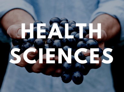 a graphic of health sciences