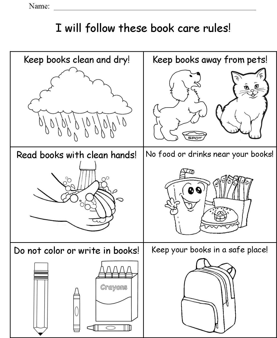 Animal Body Parts Worksheet For Kindergarten