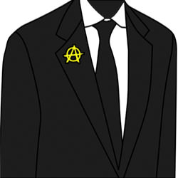 Anarchist in a suit