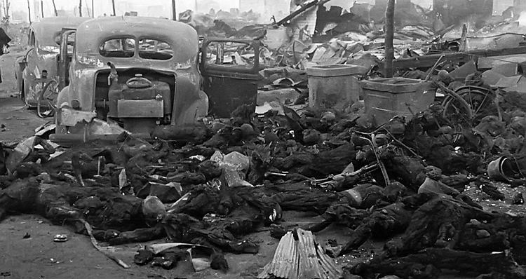 Some of the ~100,000 civilians incinerated in Operation Meetinghouse