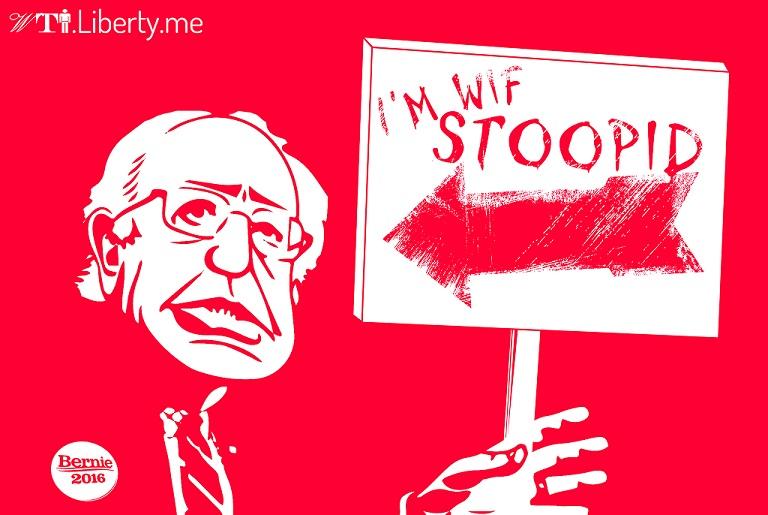 Bernie Sanders Stupid