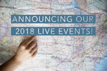 Win Front Row Seats to a 2018 Event!