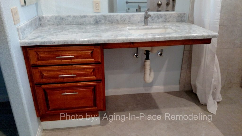 wheelchair accessible sink for