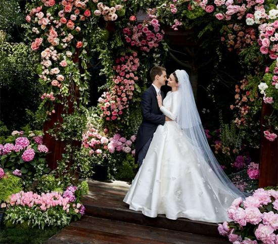 Miranda Kerr e o marido Evan Spiegel