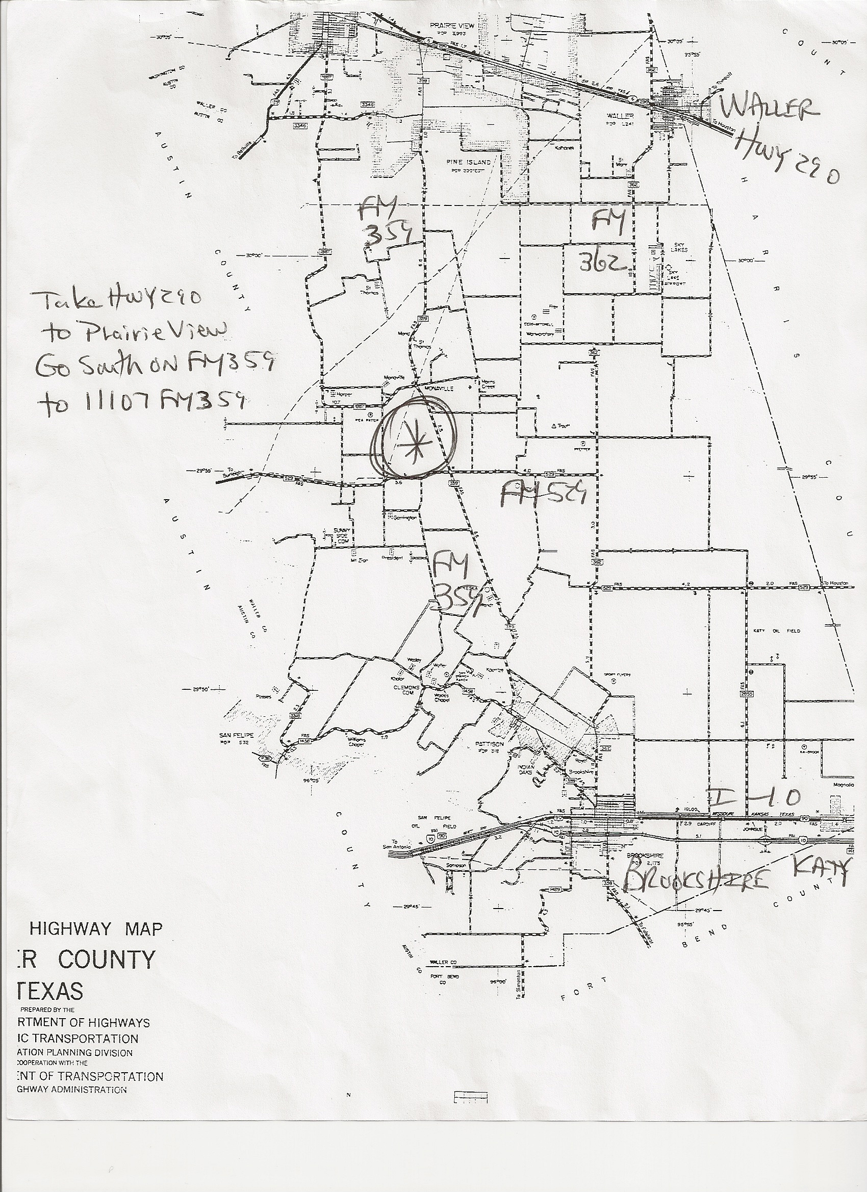 249 Acres In Waller County Texas