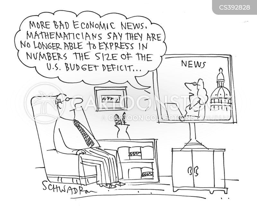 Fiscal Deficit Cartoons