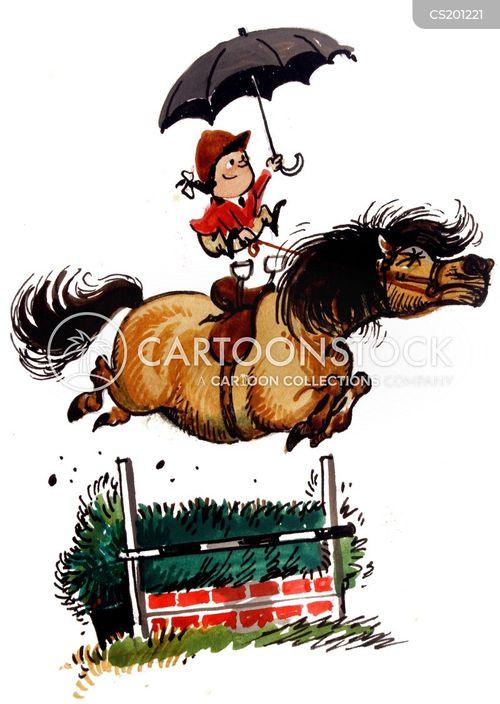 Horse Racing Art Clip Funny