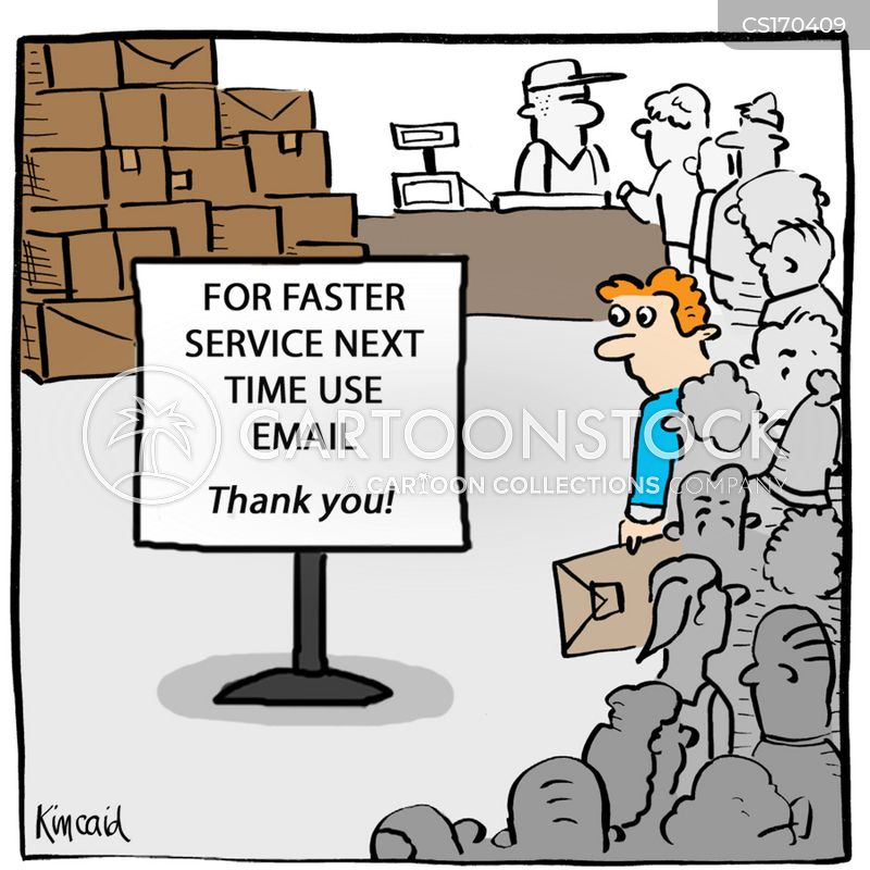 Postman Cartoons And Comics Funny Pictures From CartoonStock