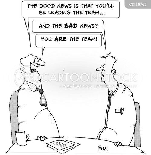 Cartoon – Good News, Bad News | HENRY KOTULA