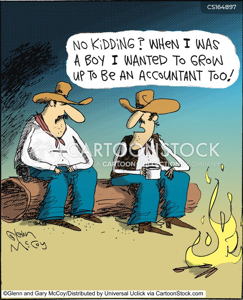 Cowboy Cartoons And Comics Funny Pictures From CartoonStock