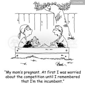 Incumbent Cartoons and Comics - funny pictures from CartoonStock